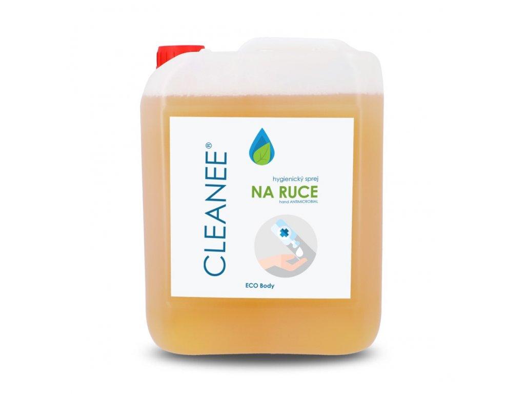 cleanee eco hygienicky sprej na ruce prirodni 5 l