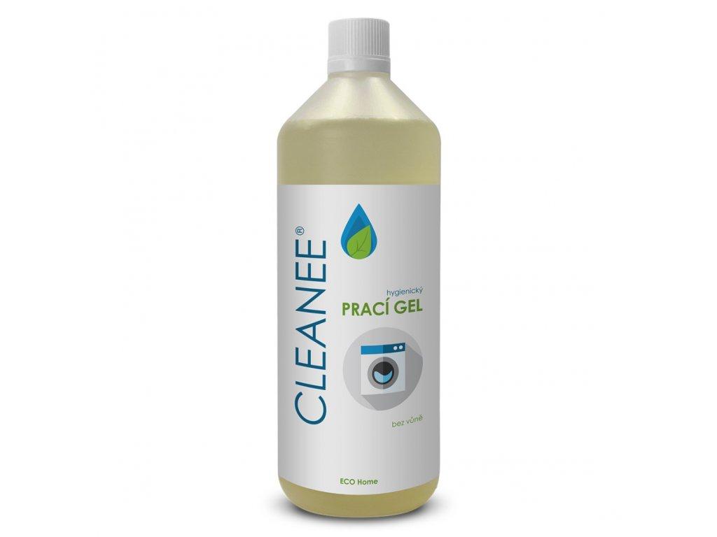 cleanee eco hygienicky praci gel bez vune 1l