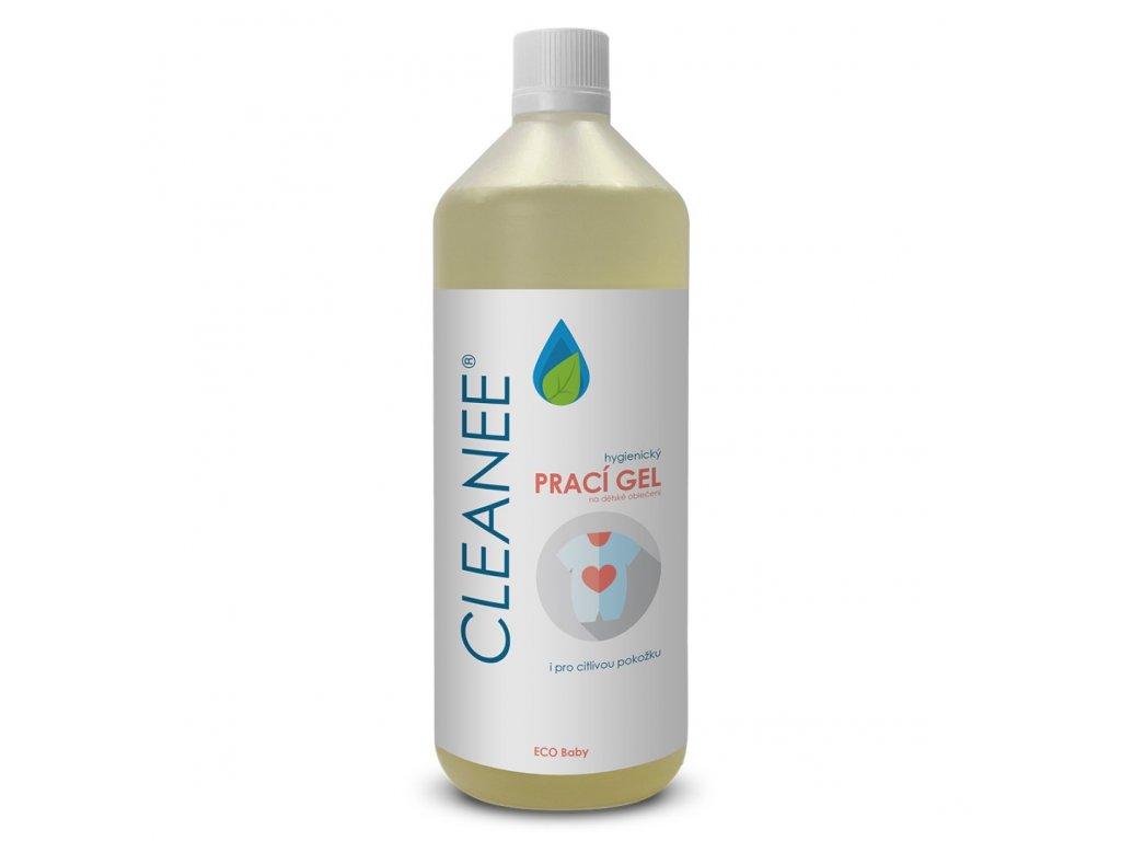cleanee eco hygienicky praci gel na detske obleceni 1l
