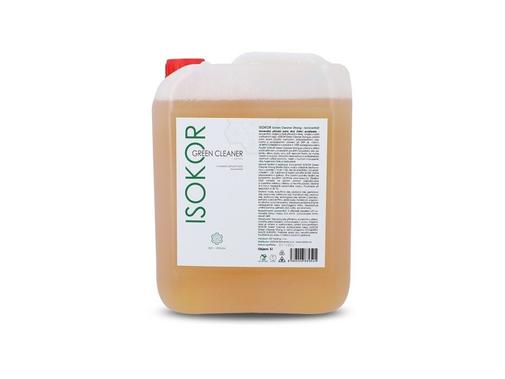 isokor green cleaner strong 5000 ml koncentrat