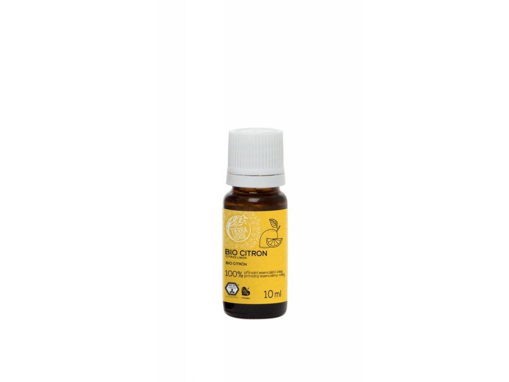 Tierra Verde – Esenciální olej BIO Citron, 10 ml