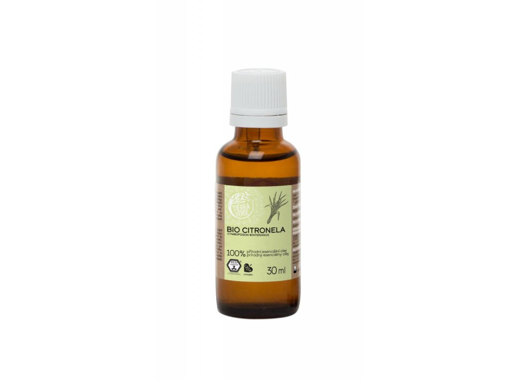 Tierra Verde – Esenciální olej BIO Citronela, 30 ml