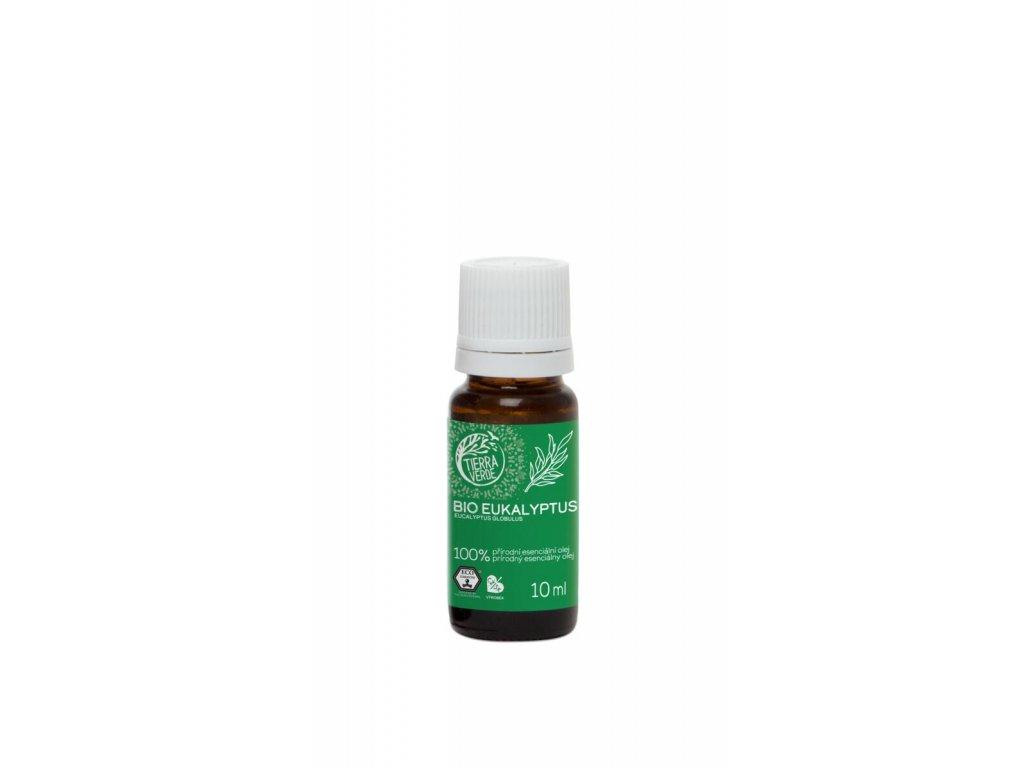 Tierra Verde – Esenciální olej BIO Eukalyptus, 10 ml