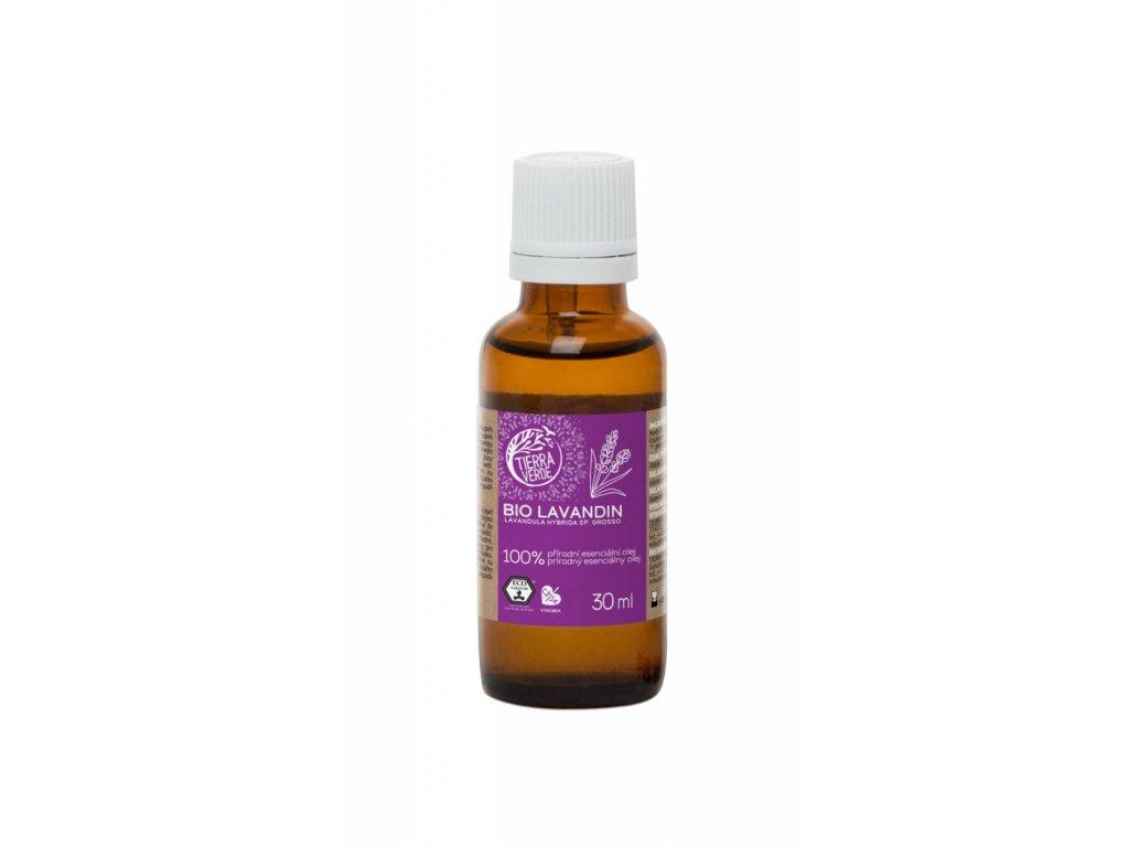 Tierra Verde – Esenciální olej BIO Lavandin, 30 ml