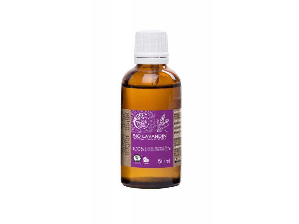Tierra Verde – Esenciální olej BIO Lavandin, 50 ml