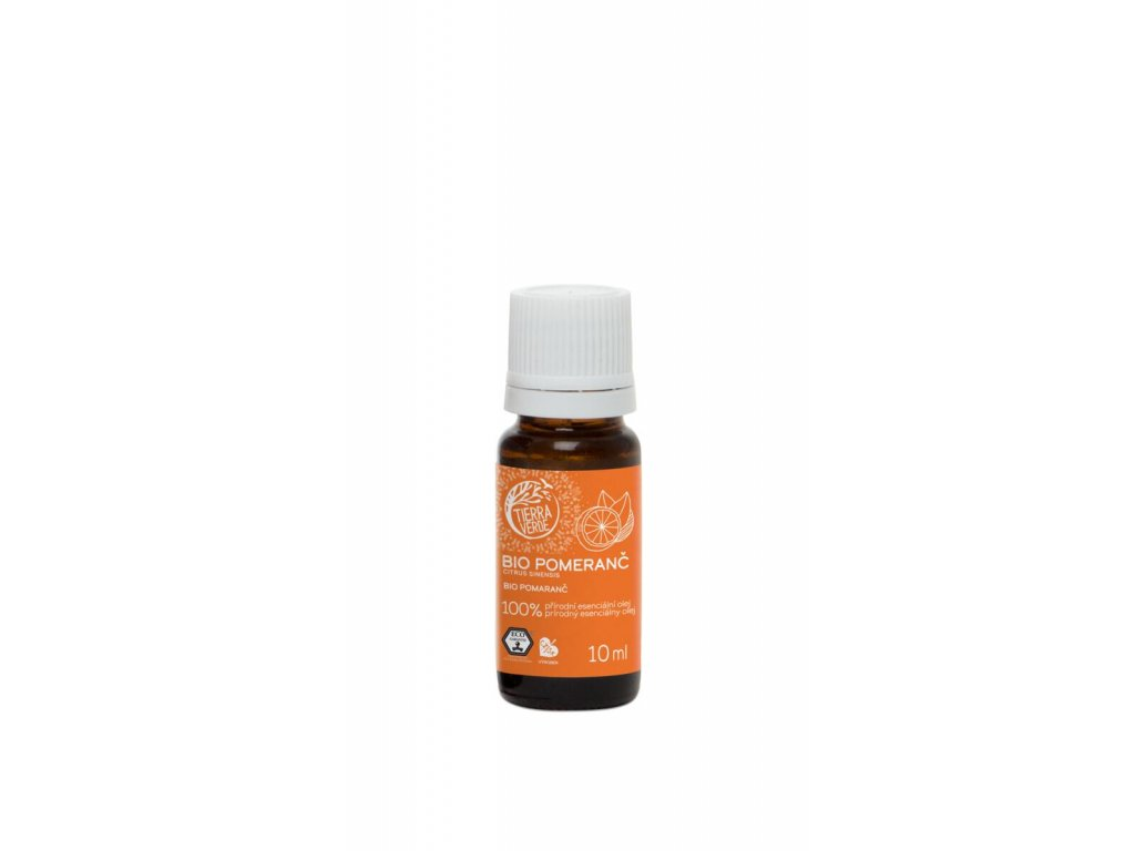 Tierra Verde – Esenciální olej BIO Pomeranč, 10 ml