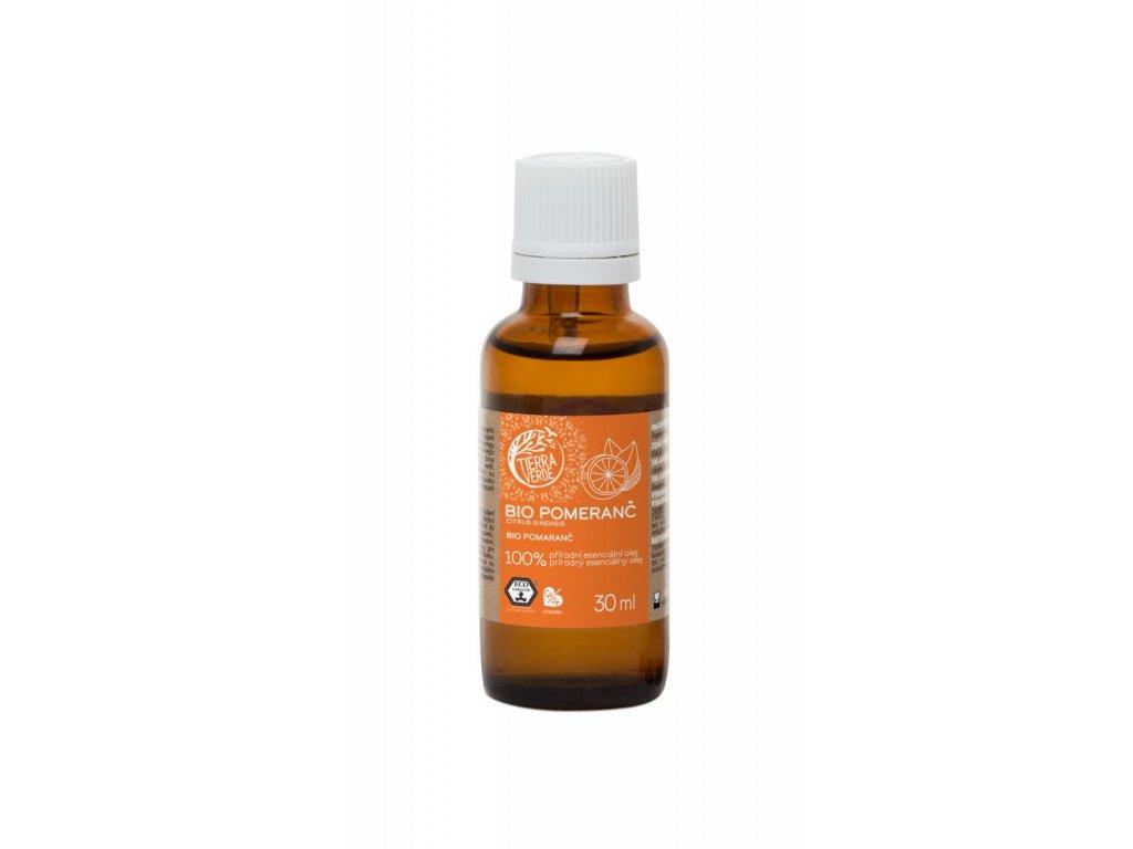 Tierra Verde – Esenciální olej BIO Pomeranč, 30 ml
