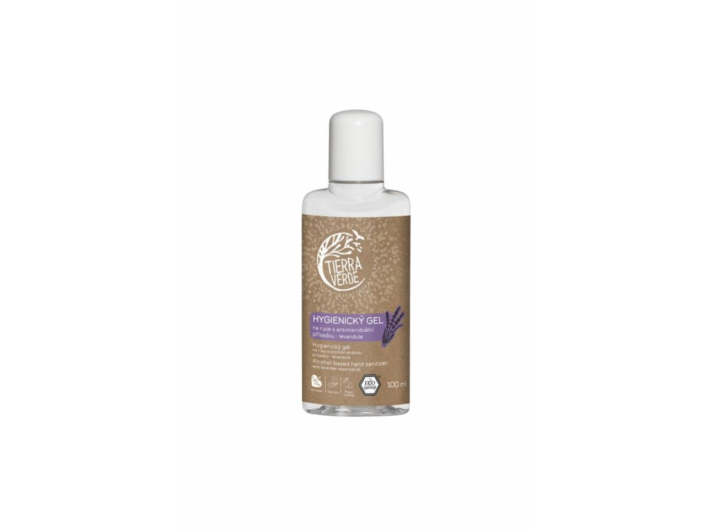 Tierra Verde – Hygienický gel na ruce levandule, 100 ml