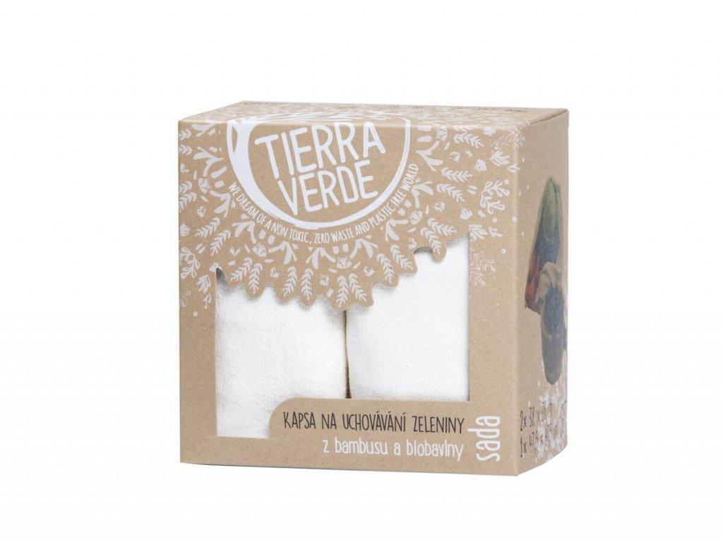 Tierra Verde – Kapsa na uchovávání zeleniny – sada, 1 ks