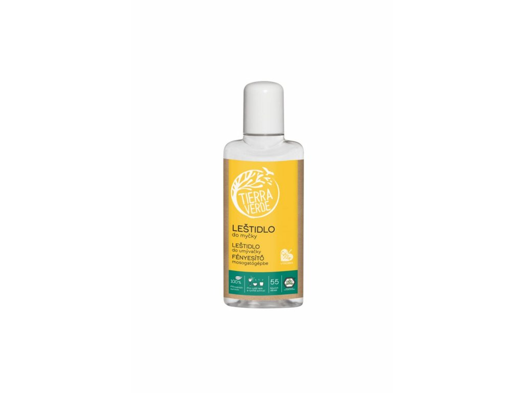 Tierra Verde – Leštidlo do myčky (Yellow & Blue), 110 ml