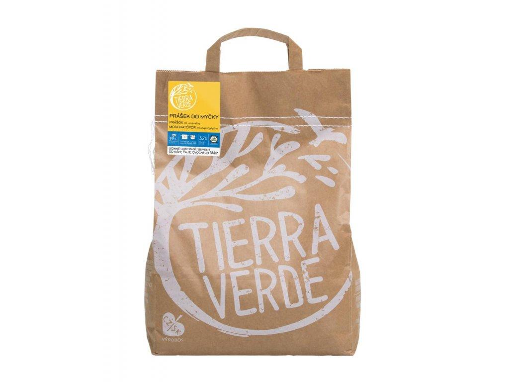 Tierra Verde – Prášek do myčky na nádobí, 5 kg