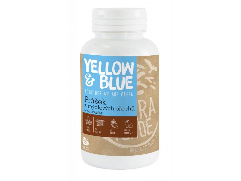 Tierra Verde – Prášek z mýdlových ořechů (Yellow & Blue), 100 g