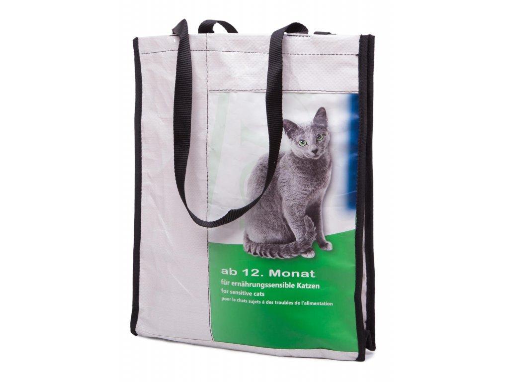 Tierra Verde – Recy taška kočkopes – malá (30 × 35 × 10 cm) (Born Again)