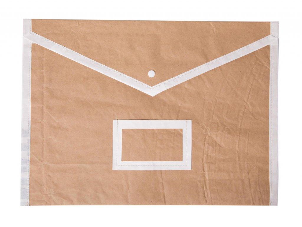 Tierra Verde – Složka papírová na dokumenty A4 – hnědá – bezobal 5 ks (Born Again), 5 ks