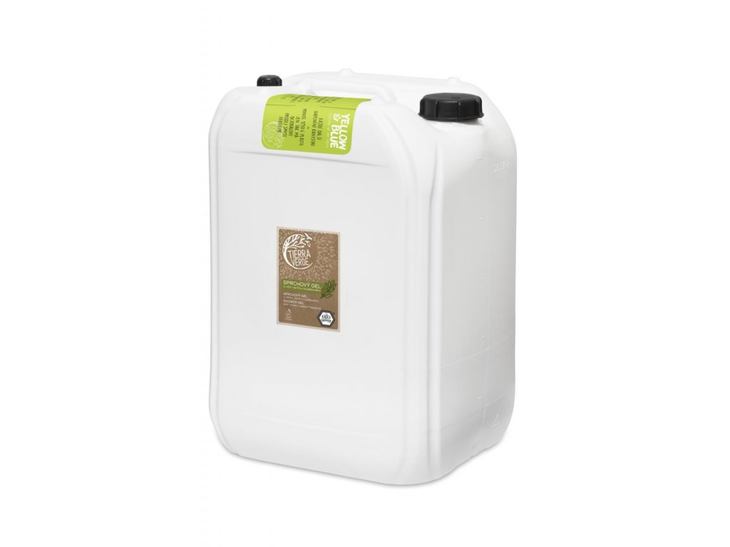 Tierra Verde – Sprchový gel svůní vavřínu kubébového, 25 l
