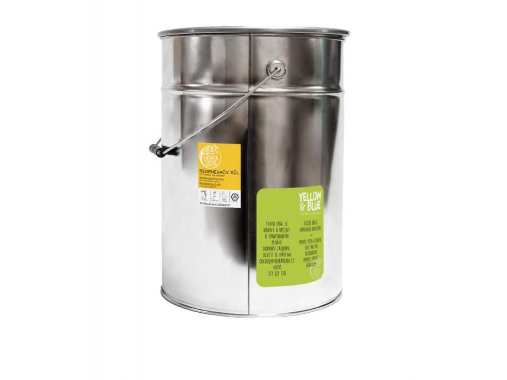 Tierra Verde – Sůl do myčky (Yellow & Blue), 15 kg