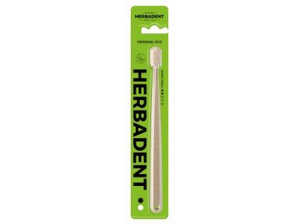 Herbadent Original Eco zubní kartáček Medium