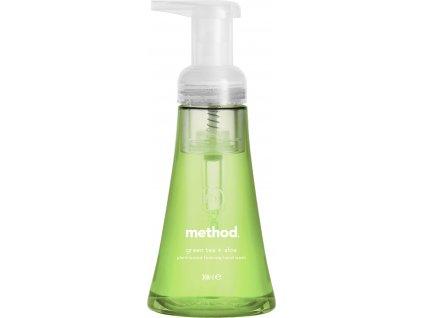 METHOD pěnové mýdlo na ruce Zelený čaj a Aloe vera, 300ml