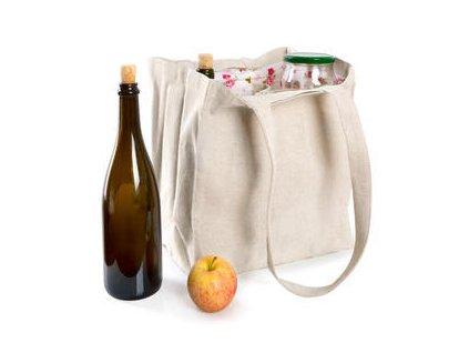 Taška na bezobalové nakupování - velká (6 ks sklenic)
