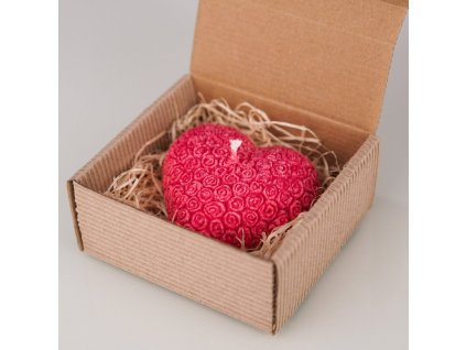 2969 1 prirodni vonna svicka palmova aromka valentynske srdce kvetinkove v krabicce ruze