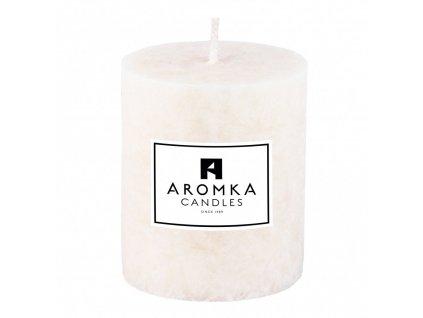 Přírodní vonná svíčka palmová - AROMKA - Válec, průměr 6,4 cm, výška 9 cm