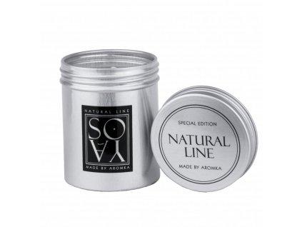 2090 prirodni vonna svicka sojova aromka plechovka s vikem 80 ml bily caj