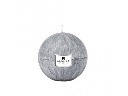 Přírodní vonná svíčka palmová - AROMKA - Koule, 7 cm