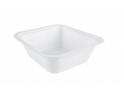 Box cukr. třtina 19,5x18x6,5 cm 1000 ml 50 ks