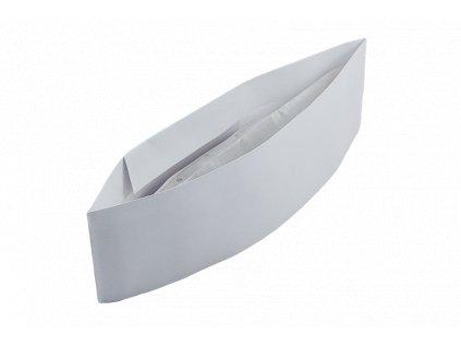 Kuchařská čepice papírová - lodička 25 ks