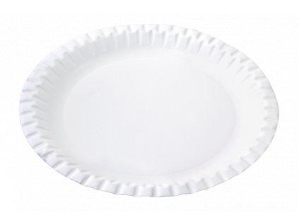 Papírový talíř mělký 23 cm párty 20 ks