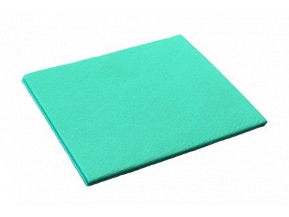 Utěrka z netkané textilie 35x40 cm zelená 10 ks