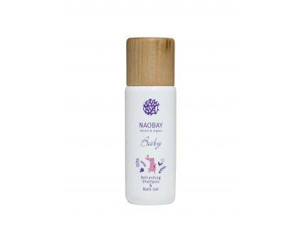 NAOBAY Baby dětský jemný šampon a mycí gel, 200ml