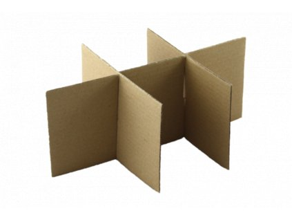 Fixační kartonová mříž pro krabice, 10 ks