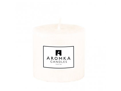Přírodní vonná svíčka palmová - AROMKA - Válec, průměr 5,4 cm, výška 5 cm