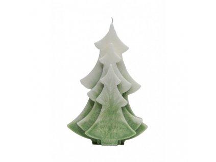 Přírodní vonná svíčka palmová - AROMKA - Stromek dekorační, průměr 15 cm, výška 10 cm