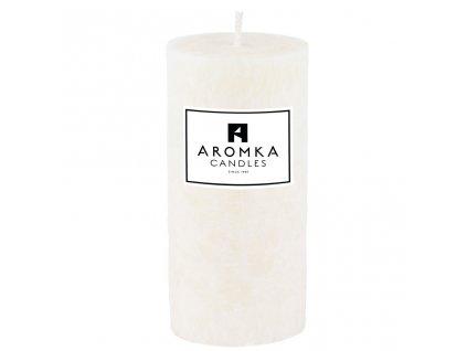 Přírodní vonná svíčka palmová - AROMKA - Válec, průměr 5,4 cm, výška 12 cm