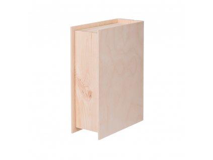 drevena krabicka kniha