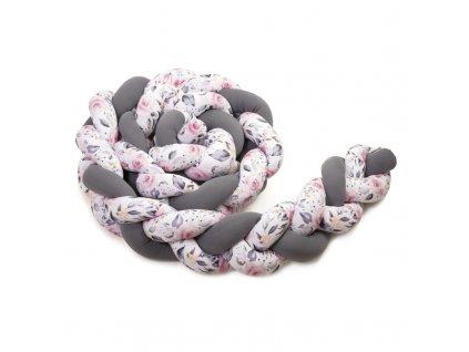 Pletený mantinel, antracit+roses 800x800 (1)