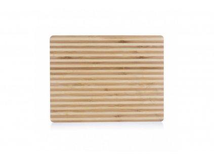 drevene bambusove prkenko 33 x 25 cm tenke pruhy 1000x665