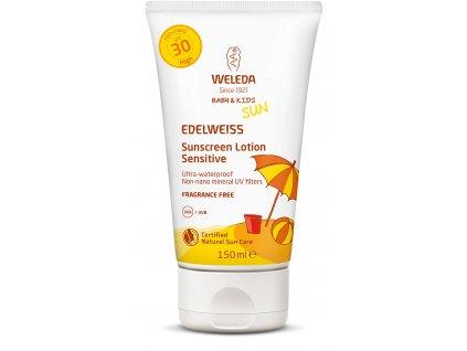 edelweiss sunscreen lotion 30 sensitive