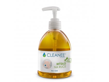 cleanee eco body 100 prirodni mydlo na ruce bez vune 500ml[1]