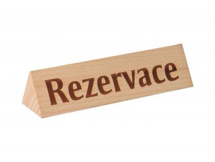 ČistéDřevo Dřevěný stojan rezervace 5 x 5 x 15 cm