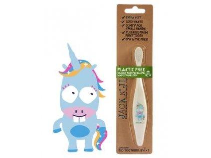 Dětský zubní kartáček JEDNOROŽEC - extra měkký