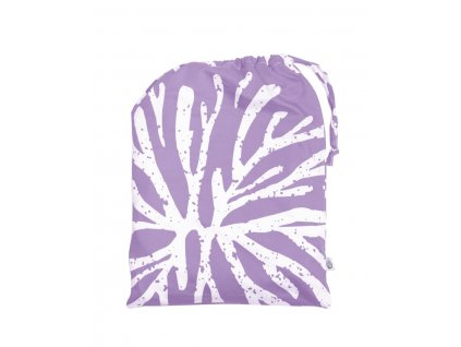 Tierra Verde – Povlečení satén – motiv Tierra Verde fialová (200×140 + 90×70 cm), 1 ks