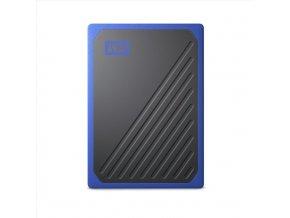 WD My Passport GO 500GB SSD Blue