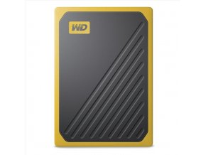 WD My Passport GO 500GB SSD Yellow