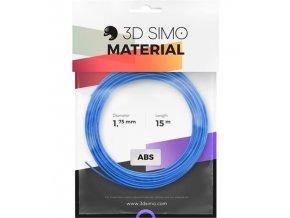 3DSimo Filament-ABS-modrá,zelená,žlutá