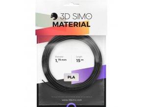 3DSimo Filament PLA-černá,zlatá,stříbrná