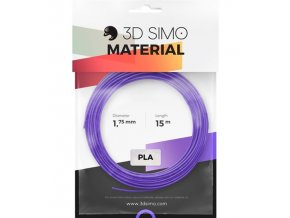 3DSimo Filament PLA II-red,purple,green