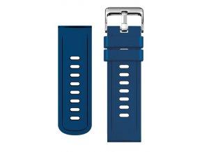 ALI řemínek silikon. 22mm,modrý 22AW0004